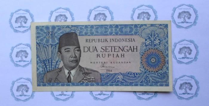harga Uang Kuno 2 1/2 Rupiah tahun 1964 Soekarno Tokopedia.com