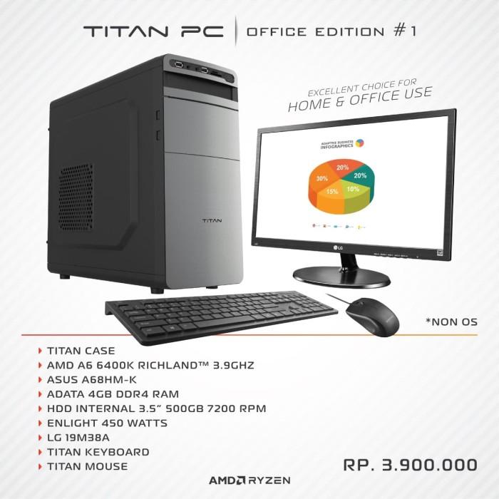 Foto Produk TITAN PC OFFICE # 1 dari PowerPC