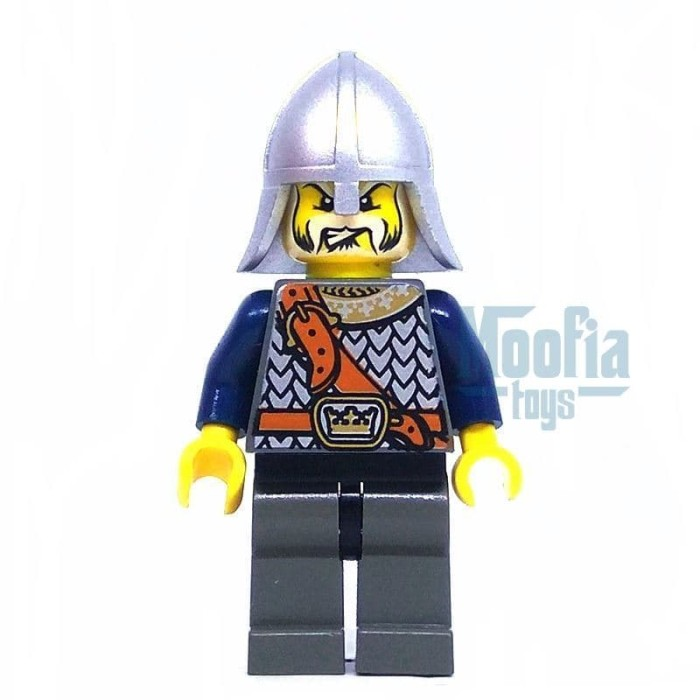 Jual Lego Minifigures Castle Fantasy Era Crown Knight Chest Strap