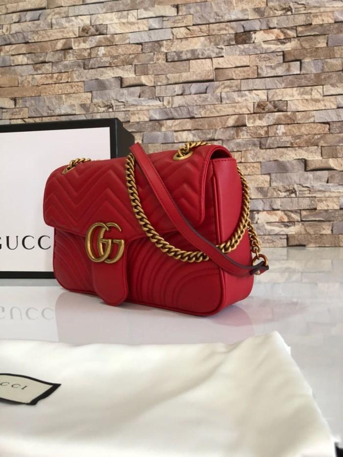 99c6f4c3829c Jual Tas Gucci GG Marmont Matelasse Shoulder Medium Mirror 443496 ...