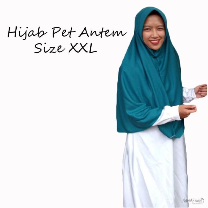 Hijab Instan / Bergo Size XXL Pet Antem - pet XXL