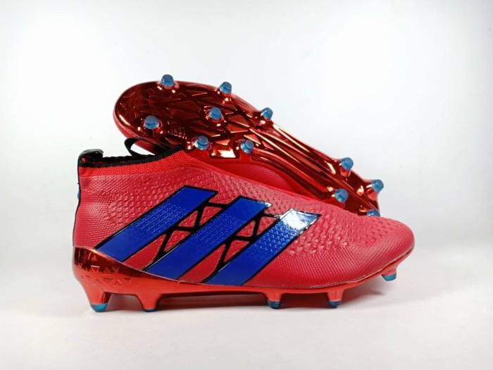 huge selection of 158af 66a3e Jual Sepatu Bola Adidas Ace 16+ Red FG Replika Impor - TOKOMURAHsport |  Tokopedia
