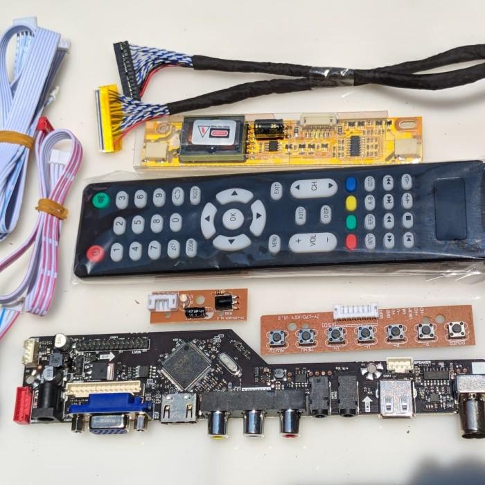 Jual Universal board LED / LCD TV MONITOR support TV,VGA,HDMI,AV,USB - Kota  Semarang - TRYCOM | Tokopedia