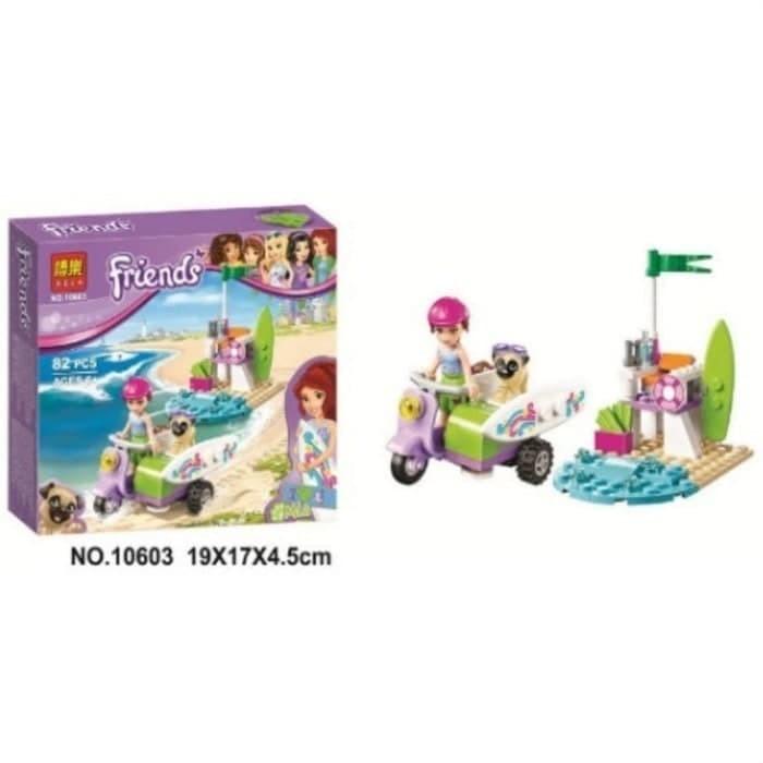 Jual Lego Friends Friend Mia 10603 Beach Scooter Cucigudanglego