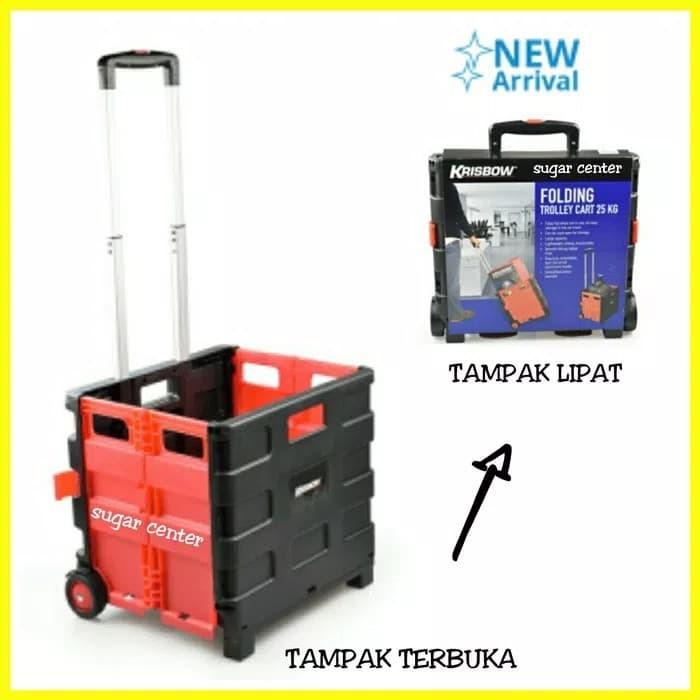 harga Troli lipat portable/alat bawa barang/troly lipat serbaguna/trolley Tokopedia.com