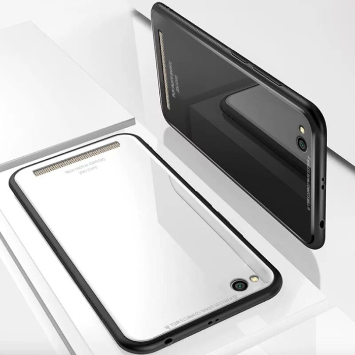 purchase cheap e6b9e 80090 Jual Case Glass Xiaomi Redmi 5a Soft Hard Back Cover Tempered Glass Mirror  - Kab. Bekasi - Avika cell | Tokopedia