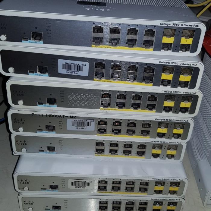 Jual Switch layer 3 Cisco 3560 8 port PoE  - Kota Bekasi - Bramantha Store  | Tokopedia