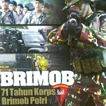 Foto Produk Commando Edisi Koleksi: 71 Tahun Korps Brimob dari Arcinc