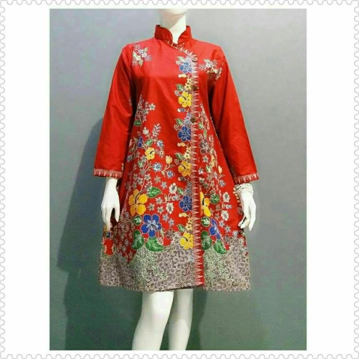 Jual Tunik Wanita Atasan Batik Dress Terbaru Baju Batik Wanita Modern Kab Pekalongan Batik Zamzam Tokopedia