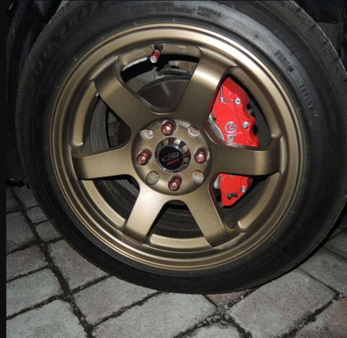 Best Cover Rem Merah Carbon Cover Rem Disc Brake Medium Brembo Karbon