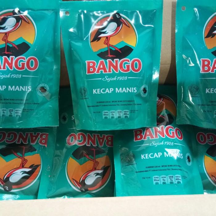 Kecap Bango 220 ml ( Harga Per Dus) isi 24 pouch