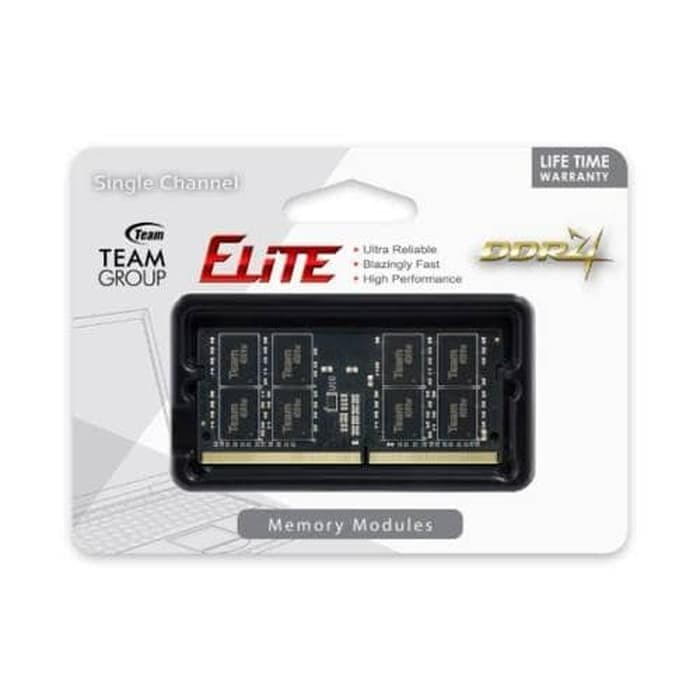 Foto Produk SODIM TEAM ELITE 16gB DDR4 PC 2666 LIFETIME WARRANTY dari Yoestore