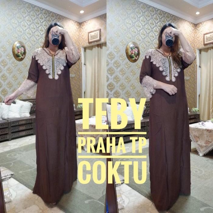 Daster arab/india/dubai/turki teby praha tp dress busui jumbo