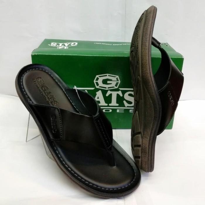 sandal kulit Gats hg 282 hitam 39-43 original - ,