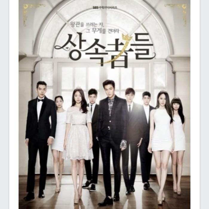 harga Dvd series korea 2013 : the heirs 5 disc Tokopedia.com
