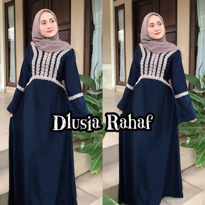 maxi dress arab/india/dubai/turki dlusia rahaf daster busui panjang