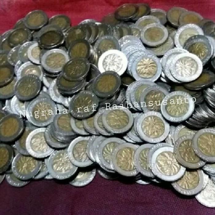 harga Uang kuno koin 1000 rupiah Bimetal kelapa sawit Tokopedia.com