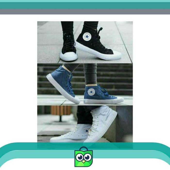 Jual  IMPORT VIETNAM  Sepatu Converse Chuck Taylor 2 High - Hitam ... fef962af74