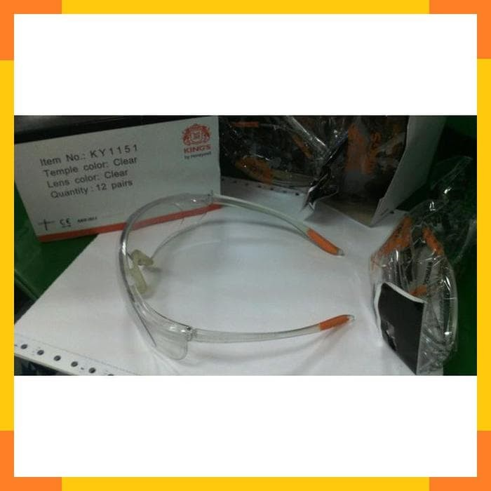 Kacamata Safety Kings Kings Ky 1151 Clear Lens Safety Glass - Wiring ... c562c1ea71