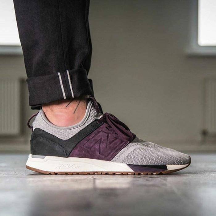 ... harga Sepatu new balance mrl 247lb grey purple - premium import  Tokopedia.com fdb3320f05