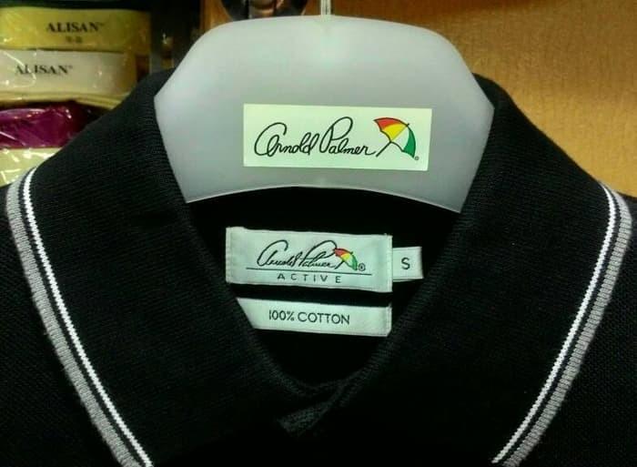 ... harga Kaos kerah polo shirt pria arnold palmer 100% original murah  hitam Tokopedia.com d13f0fe1d3