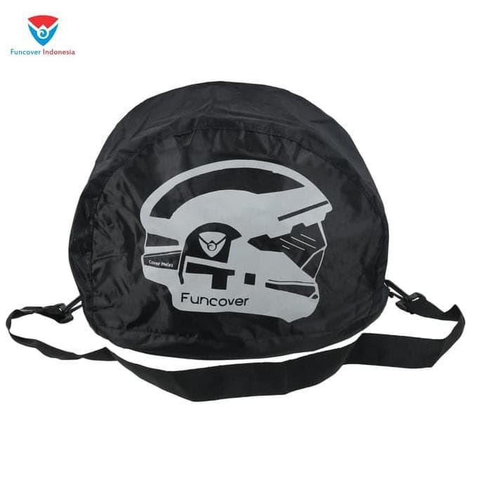 Raincoat Cover Sarung Helm Anti Air Jas Hujan Tas Helm Motor Funcover