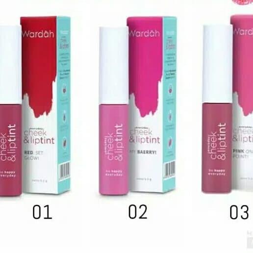 Foto Produk Wardah Cheek and Lip Tint dari Aisha Cosmetics