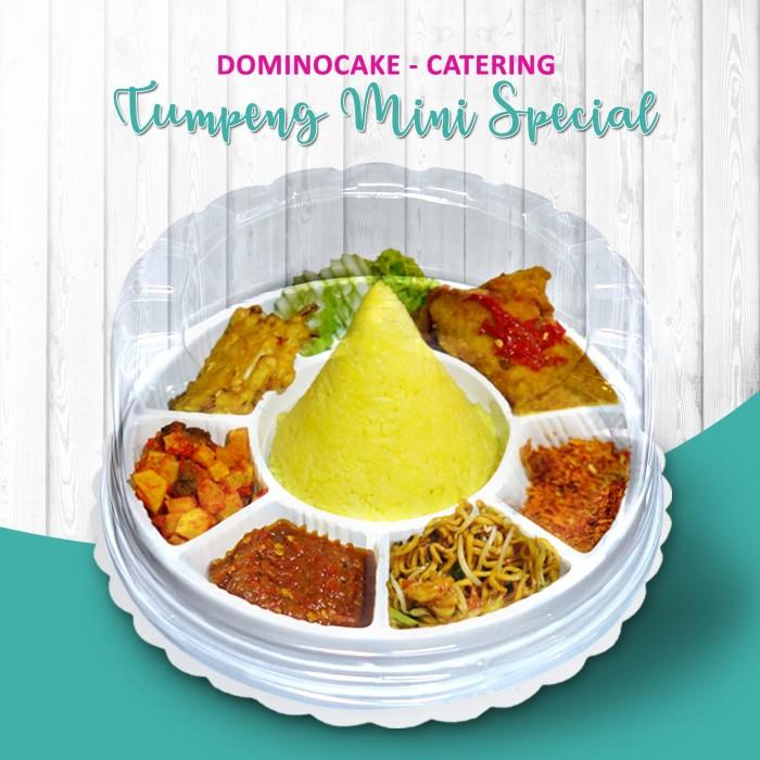 Jual Nasi Tumpeng Mini Tumpeng Mini Special Kuning Dominocake Catering Jakarta Timur Dominocake Catering Tokopedia