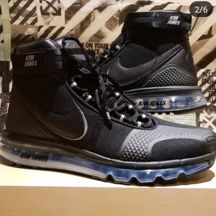 Jual Nike air max 360 x Kim Jones Black Kota Pekanbaru Dana's Collection | Tokopedia
