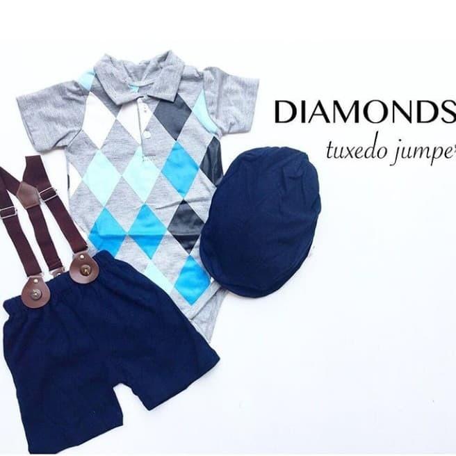 baju bayi laki laki / jumper bayi / romper bayi