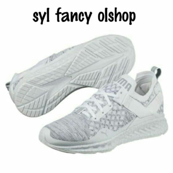 cheap for discount 56ef2 39a94 Jual Sepatu Puma Ignite evoKnit Low Hypernature White Putih Original BNIB -  DKI Jakarta - syl fancy olshop | Tokopedia