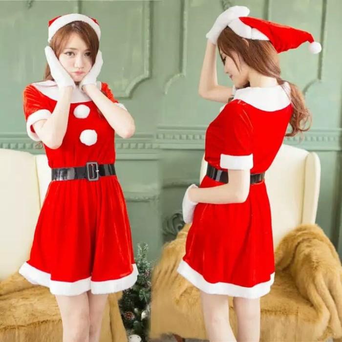 e52c9d720 Harga Jual Costume Natal -Chirstmas Costume -Costume Santa -Lingerie ...