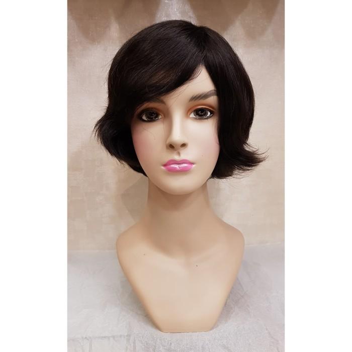 Review Rambut Palsu Wanita Wig Human Hair Black Hh1306431H Di ... 493c3f31ab