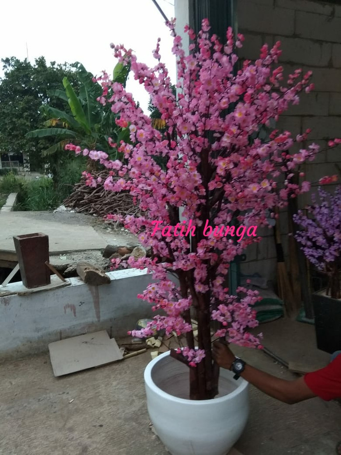 Jual Sakura Bunga Plastik 2 Meter Kota Bogor Fatih Bunga Plastik Tokopedia