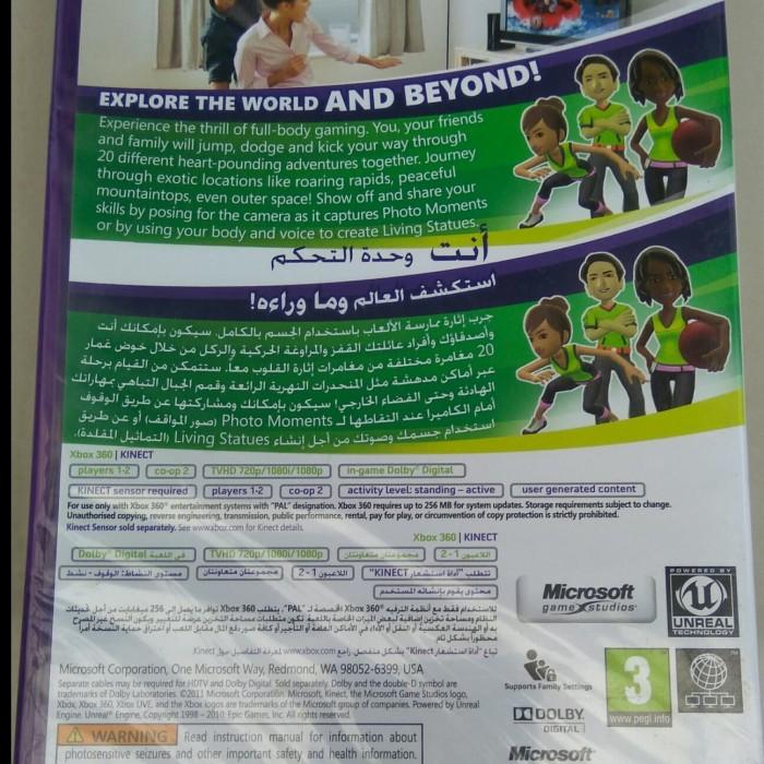Jual Kinect Adventures Xbox 360 Ori - DKI Jakarta - batcave corp | Tokopedia