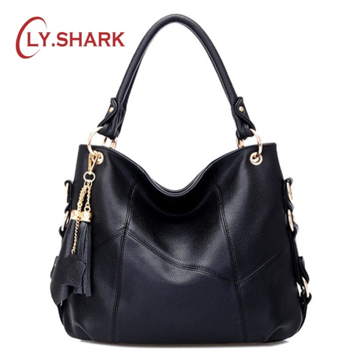 d5a9f4de465 Jual LYSHARK Women Leather Bag Female Luxury Handbags Women Bags - Neo  Kacamata | Tokopedia