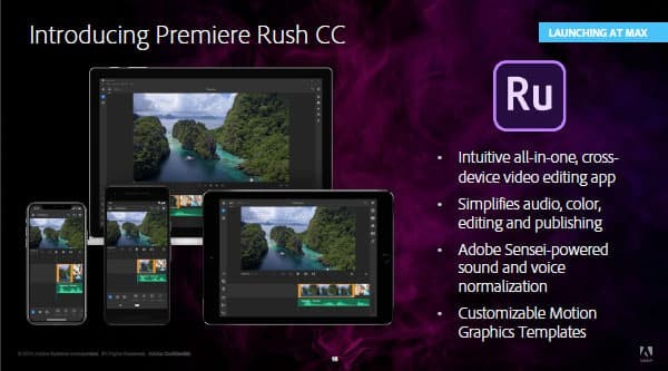 Jual Adobe Premiere Rush CC 2019 + Premiere Pro CC 2019 + Flash Drive 16GB  - Kota Surabaya - Culbert Store | Tokopedia