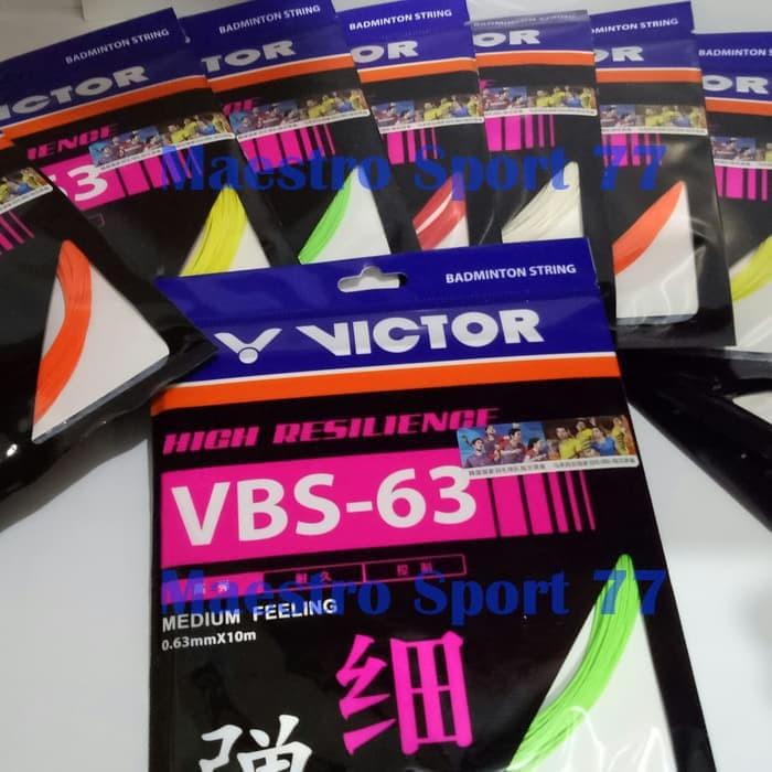 Foto Produk Senar Raket/String Badminton Victor VBS-63. dari maestro sport 77
