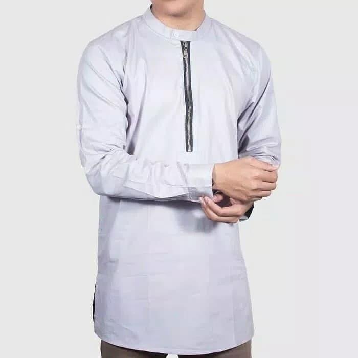 Baju kemeja koko lengan panjang gamis pria pakistan dan kurta maroko