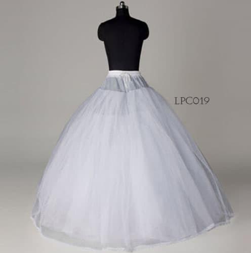 harga Bridal long petticoat -jual petticoat wedding- petticoat murah- lpc019 Tokopedia.com