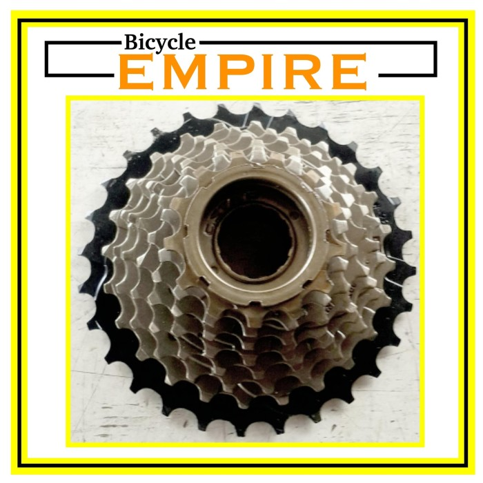 harga Freewheel drat c star 8 speed 14 28 bicycle empire Tokopedia.com