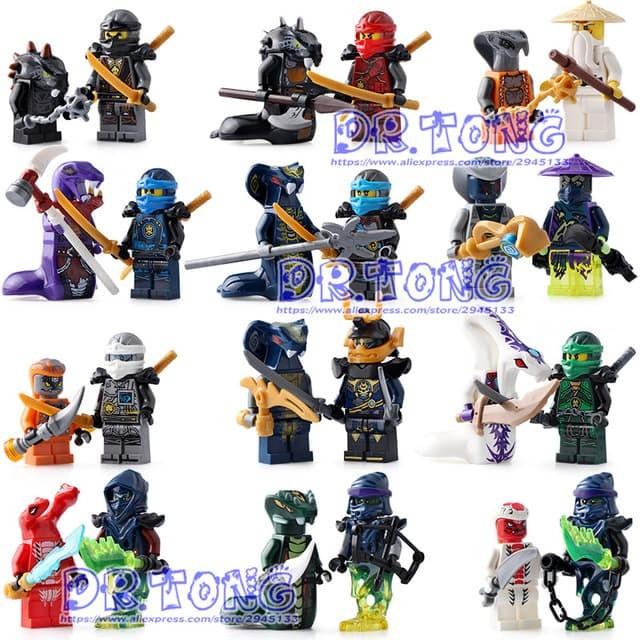 Jual Ninja The Movie Minifigure Brick Lego Ninjago Dki Jakarta