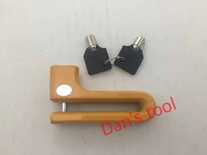Gembok Cakram Motor Hitam - Gembok Disc Brake - Disc brake Lock