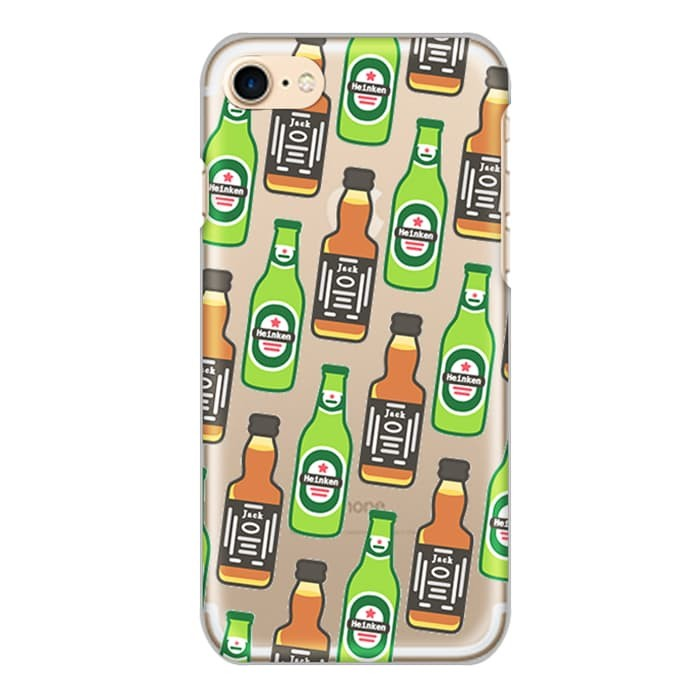 harga Beer & whiskey pattern snack kingdom - custom phone case - bumber black Tokopedia.com