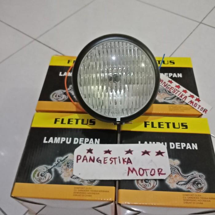 harga Lampu depan vixion-ninja-rxk-dll model cb 100 mini black Tokopedia.com