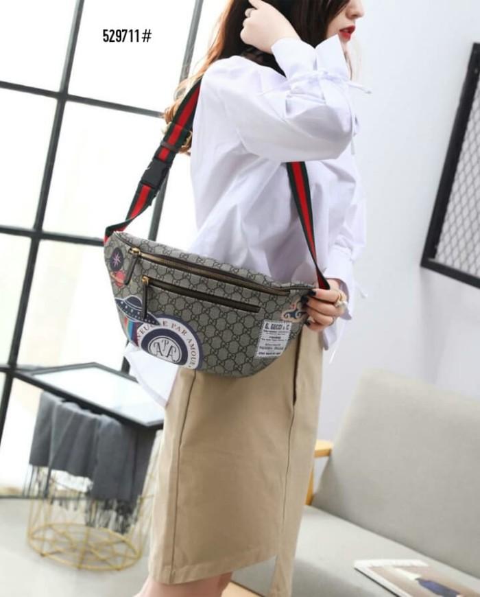 3e3d4cec9a79 Jual High Premium Gucci Courrier GG Supreme Belt Bag 529711 ...