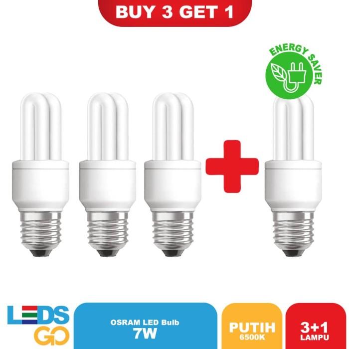 Osram Lampu Hemat Energi Dulux Value Stick 7 Watt Putih [4X]
