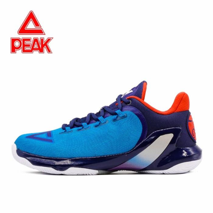 harga Sepatu basket peak tony parker v original 100% - e73323a big size - biru 48 Tokopedia.com