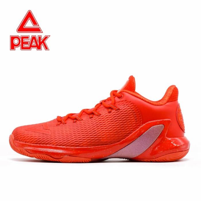 harga Sepatu basket peak tony parker v original 100% - e73323a big size - merah 48 Tokopedia.com