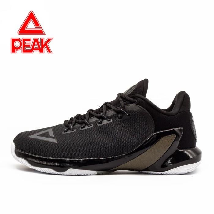 harga Sepatu basket peak tony parker v original 100% - e73323a big size - hitam 49 Tokopedia.com